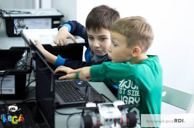 Занятие по робототехнике в Лиги Роботов